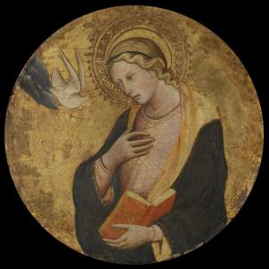お告げを受ける聖母マリア