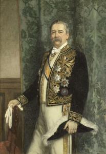 ウィレム・ルーズブーム(1843-1920)知事(1899-1904)
