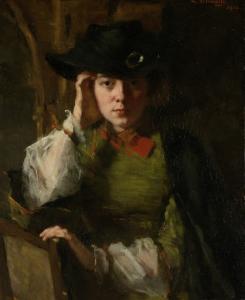 リジー・アンシンの肖像