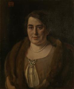 アンドリーズ・ヴァン・ヴェゼルの二番目の妻、アデーレ・ヴァン・ミークレン