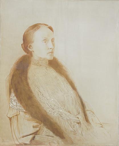 リンデンのA.M.L ボンガー・ヴァン夫人の肖像