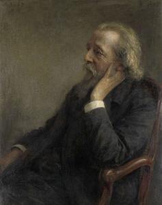 自由教会の創始者であるDsペトルス・ヘルマヌス・フーゲンホルツ(1834-1911)の肖像