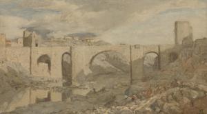 トレド近郊の橋