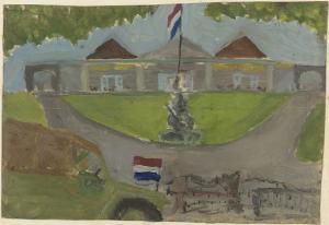オランダ軍の大統領府占領
