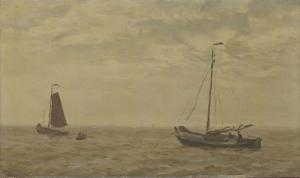 漁船と海の風景