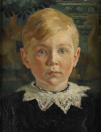 ジョセフ・ランズの若き頃の肖像