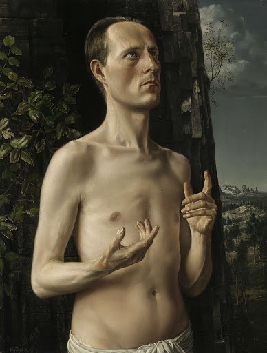 洗礼者ヨハネとしての自画像