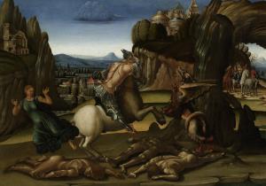 聖ゲオルギオスとドラゴン