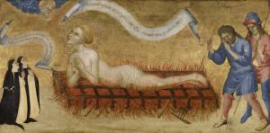 二人のベネディクト修道女とセントローレンスの殉教