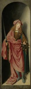 聖人ヴァレリアン、三位一体の左翼