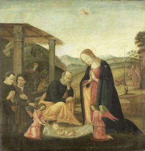 幼きキリストの崇拝