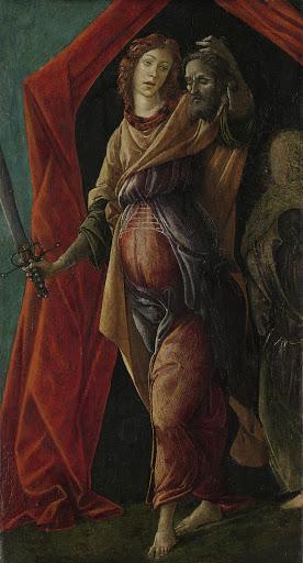 ホロフェルネスの頭を持ったジュディス