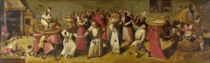 謝肉祭と断ち日の間の闘い