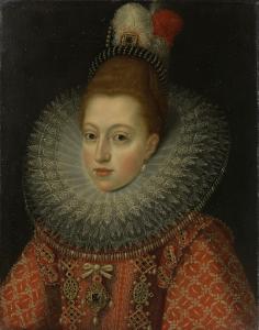オーストリアの公女マルガレーテの肖像、フェリペ3世の王妃