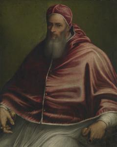 教皇ユリウス3世(旧教皇パウロ3世)