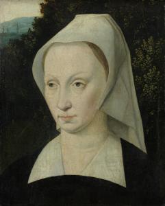女性の肖像画