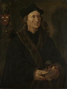 デルフトの聖アガサ修道院長、ヨハネス・コルマヌスの肖像