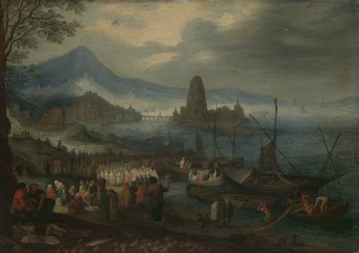 ガリラヤ湖での説教