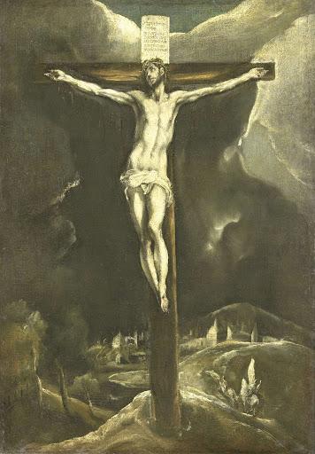 十字架に架けられたキリスト