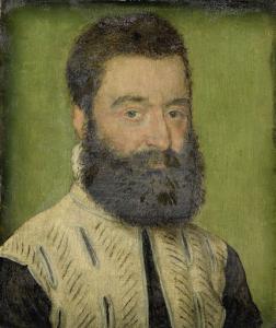 バーテルミ・アノーの肖像画。