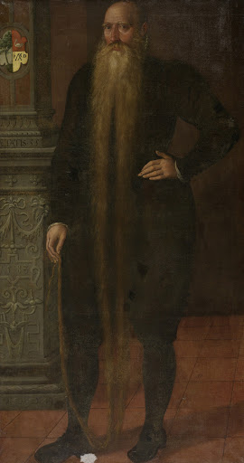ロン・ビアードと呼ばれるピーター・ディルクシュの肖像画、エダムの孤児会議所の委員