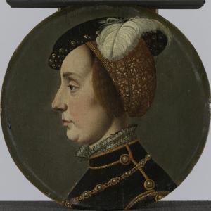 ロレーヌのアンナの肖像、レネ・デ・シャロンの妃、オランダの王子
