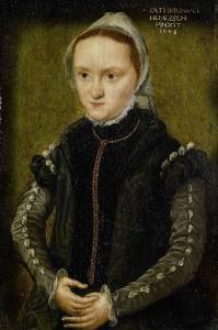 女性の肖像画、おそらく自画像