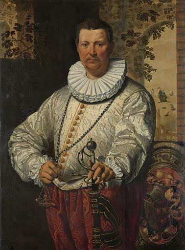 オランダ艦隊総督の肖像