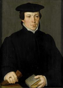 若い大臣の肖像画
