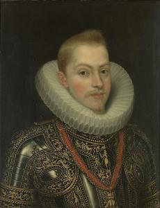 フィリップ3世の肖像画、スペインの王