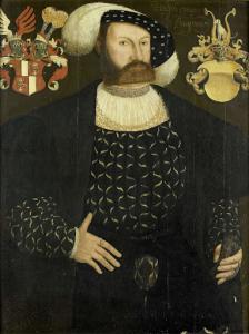スタヴォレンの最高判事、ガスターランドの偉人、ルドルフ・ヴァン・ブイノー(1542没)のおそらく死後に描かれた肖像