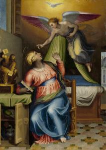 聖母の受胎告知