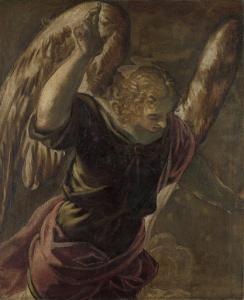 聖母への受胎告知天使