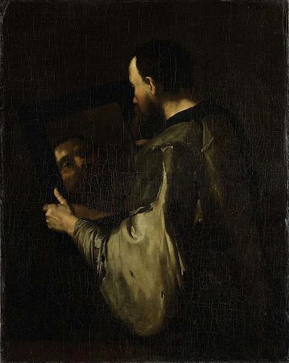 鏡と哲学者》ホセ・デ・リベーラ|MUSEY[ミュージー]