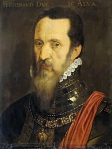 フェルナンド・アルバレス・デ・トレドの肖像画