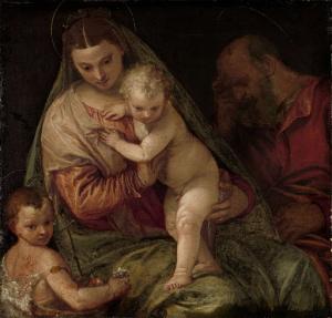 聖ヨハネと聖家族