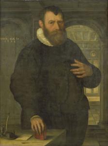 バルソロメウス・ヴァン・デル・ヴィエール(1534-1603)の肖像