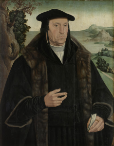 コーネリス・アエレンツ・ヴァン・デル・デュッセン(1481-1556)の肖像