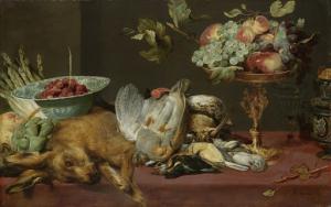 動物と果物