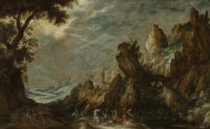 聖ポールの改宗の風景
