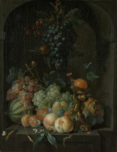 果物のある静物画