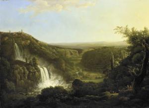 アニエーネの谷とティボリの滝。