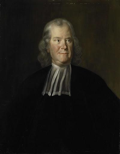 内科医ヘルマン・ブールハーフェの肖像、ライデンの大学の教授