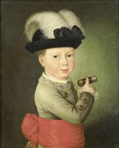 ウィリアム・ジョージ・フレデリック、オラニエ=ナッサウ家の王子、幼少の頃