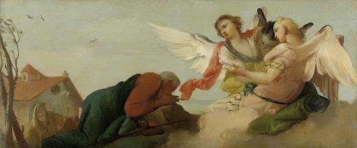 アブラハムと三人の天使