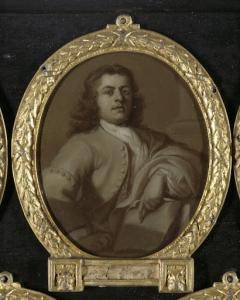 エイドリアン・ファン・デル・フリート (1707-77)の肖像、ロッテルダムの詩人