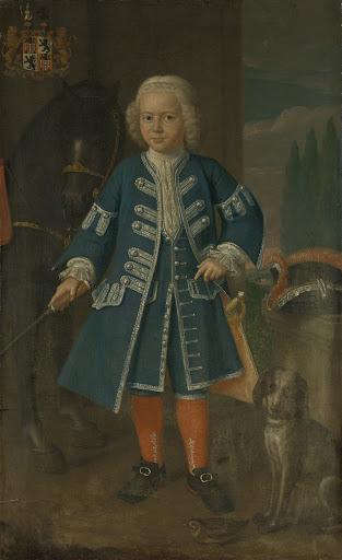 バビロニア王、ディーデリック・ヴァン・ヘマートの6歳のときの肖像