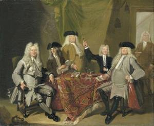 1724年、医師学会の検査官たち