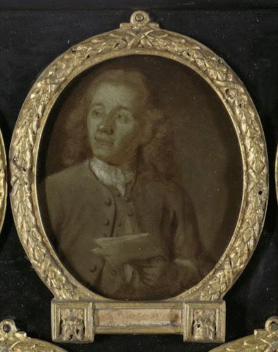 アムステルダムの製図者、エッチング画家、若い方のアブラハム・ハーンの肖像