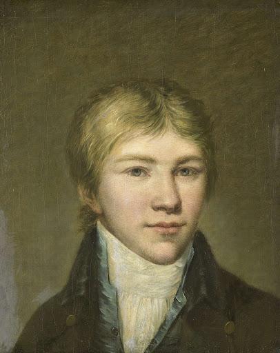 17歳のアレンド・ヴァン・デン・ブリンクの肖像